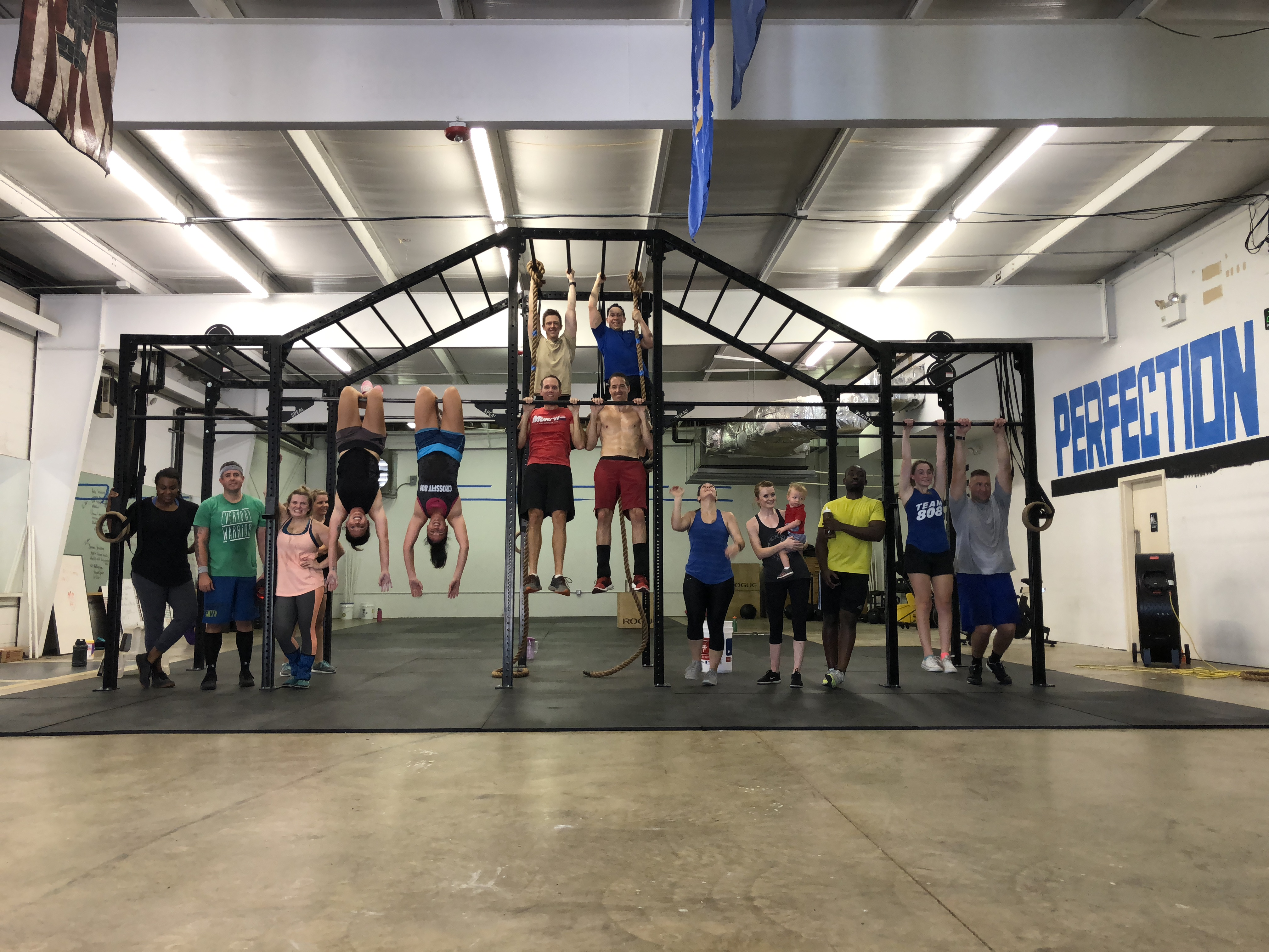 Crossfit nbk u located in historic roswell maple street